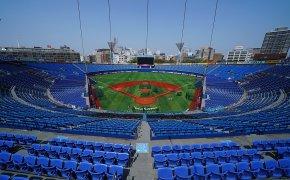 Baseball stadium for 2020 Tokyo Olympics