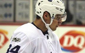 Auston Matthews of the Toronto Maple Leafs