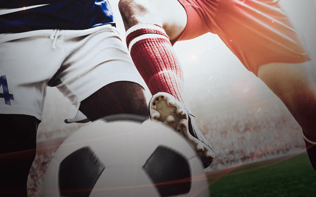 soccer betting is all season header image cleats soccer ball