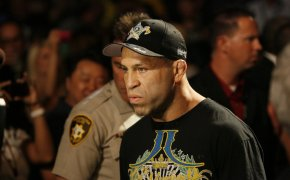 02 July 2011: Wanderlei Silva walks to the Octagon during UFC 132 at the MGM Grand Garden Arena in Las Vegas, Nevada.