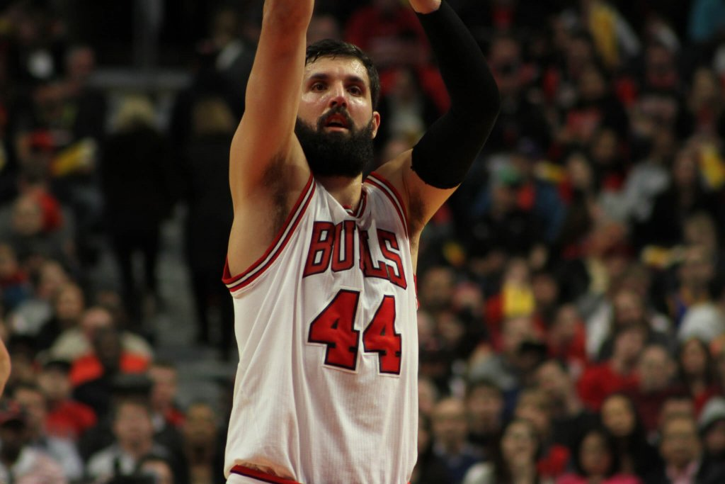 Nikola Mirotic of the Chicago Bulls