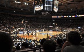 College hoops at MSG