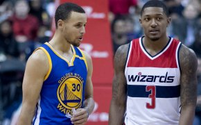 Steph Curry and Bradley Beal
