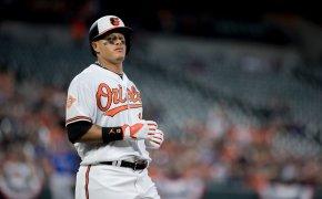 Manny Machado as a Baltimore Oriole