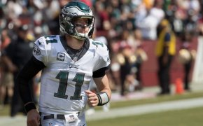 Carson Wentz of the Philadelphia Eagles