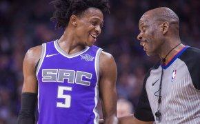 Sacramento Kings point guard De'Aaron Fox