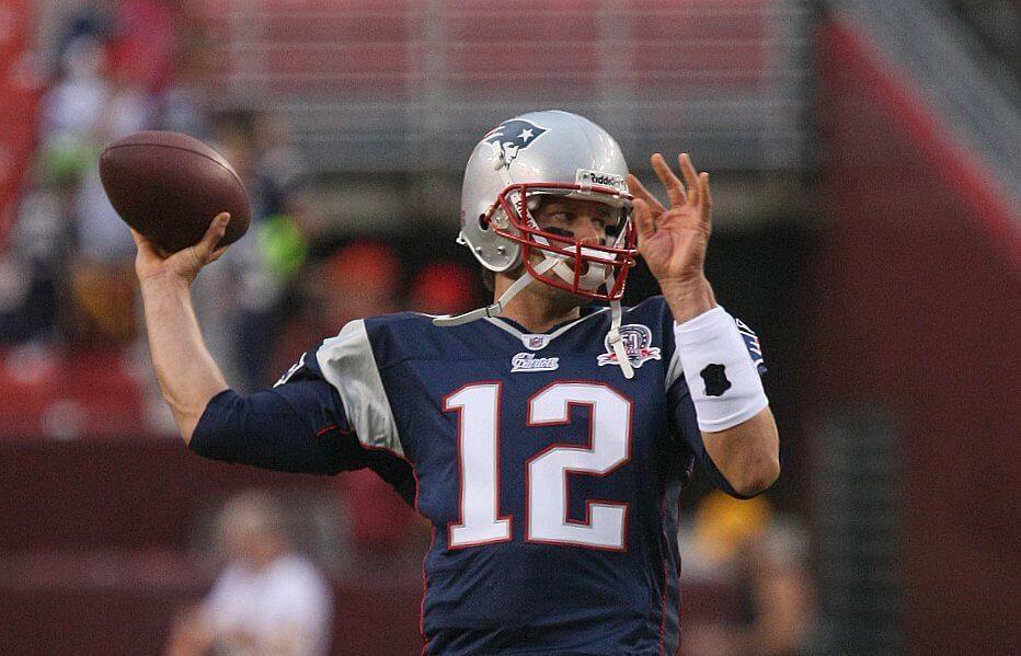 Tom Brady in Super Bowl 50