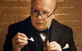 Gary Oldman as Winston Churchill, in