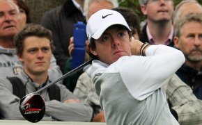 Rory McIlroy sticking his follow-through