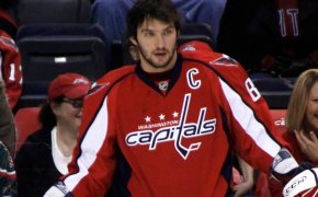 The Capitals Alexander Ovechkin