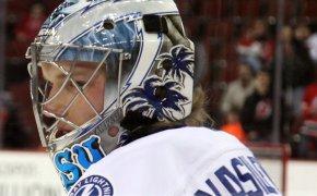 Andrei Vasilevsky, goalie for the Tampa Bay Lightning