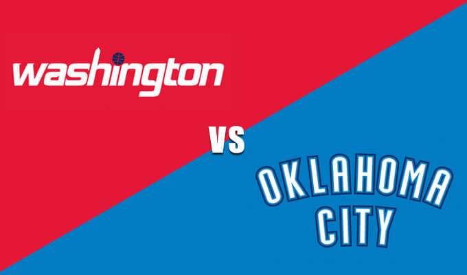 Washington Wizards vs Oklahoma City Thunder