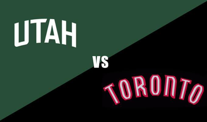 Utah Jazz vs Toronto Raptors