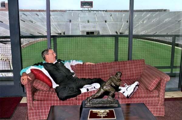 Bobby Bowden, Heisman Relaxer