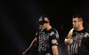 17 April 2010: Gegard Mousasil enters the ring for his Strikeforce Nashville fight