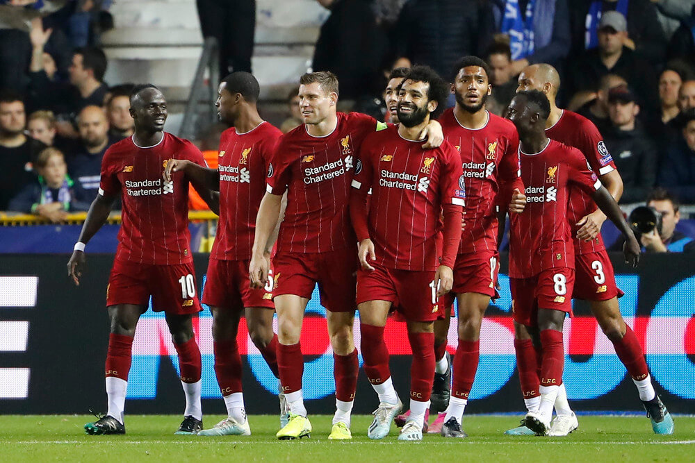 Liverpool Heavy 400 Favorites To Win FIFA Club World Cup