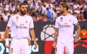 Karim Benzema (left) and Sergio Ramos are on a mission for Real Madrid