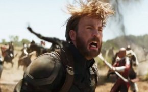 Chris Evans as The Nomad (Captain America) in Avengers: Infinity War.