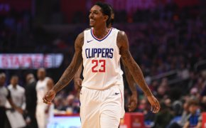 Lou Williams with the Clippers