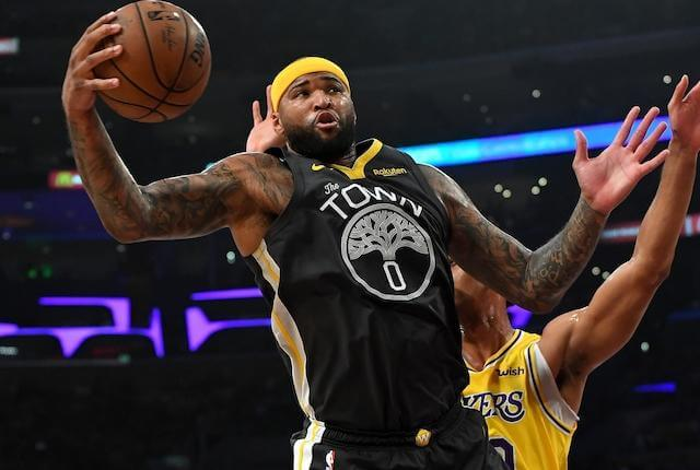 Lakers' 2020 NBA Championship Odds Unchanged After Signing DeMarcus