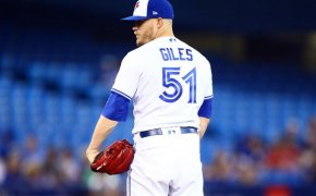Jays pitcher Ken Giles