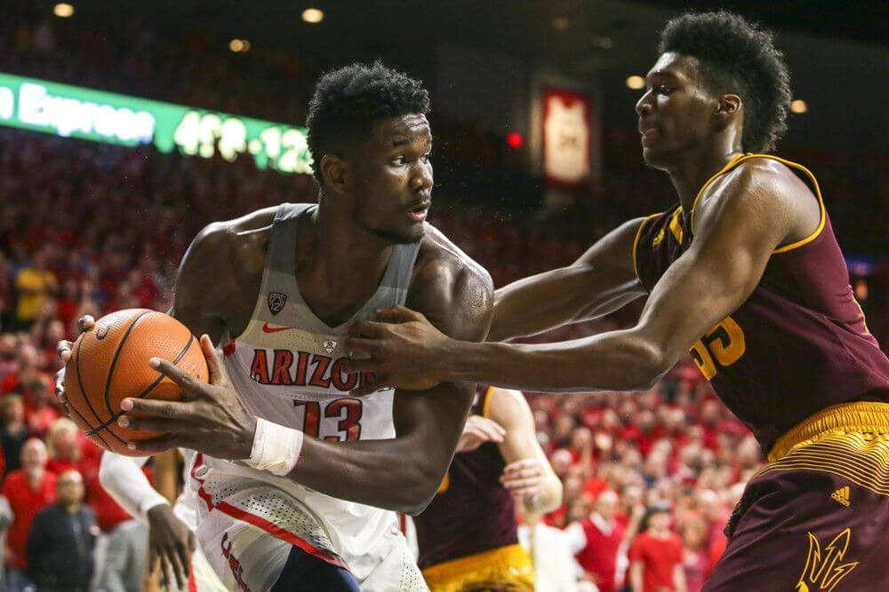 Arizona center Deandre Ayton
