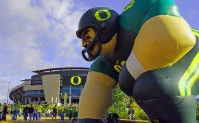 Oregon Ducks Inflatable Man
