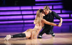 Amy Purdy and Derek Hough on Dancing with the Stars.