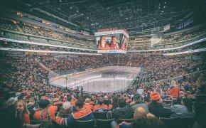 Edmonton Oilers Rogers Place arena