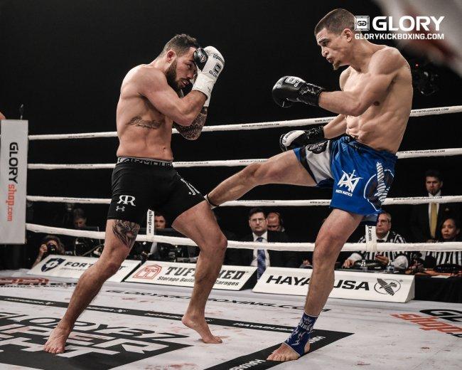 Matt Embree vs. van Roosmalen at GLORY 37