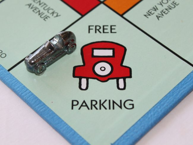 Free Parking in Monopoly