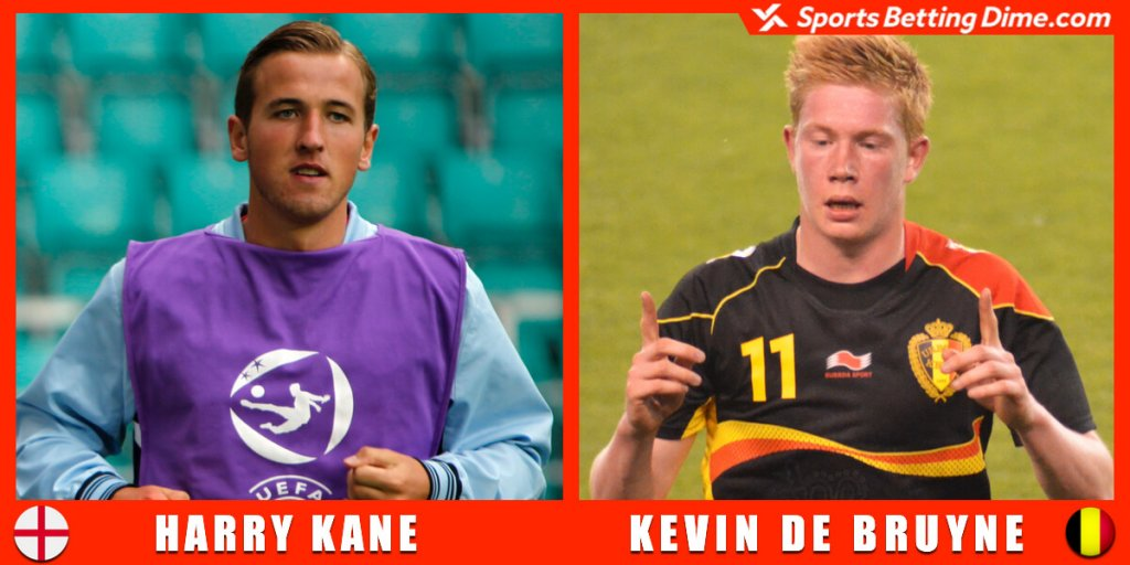 Kevin De Bruyne and Harry Kane.