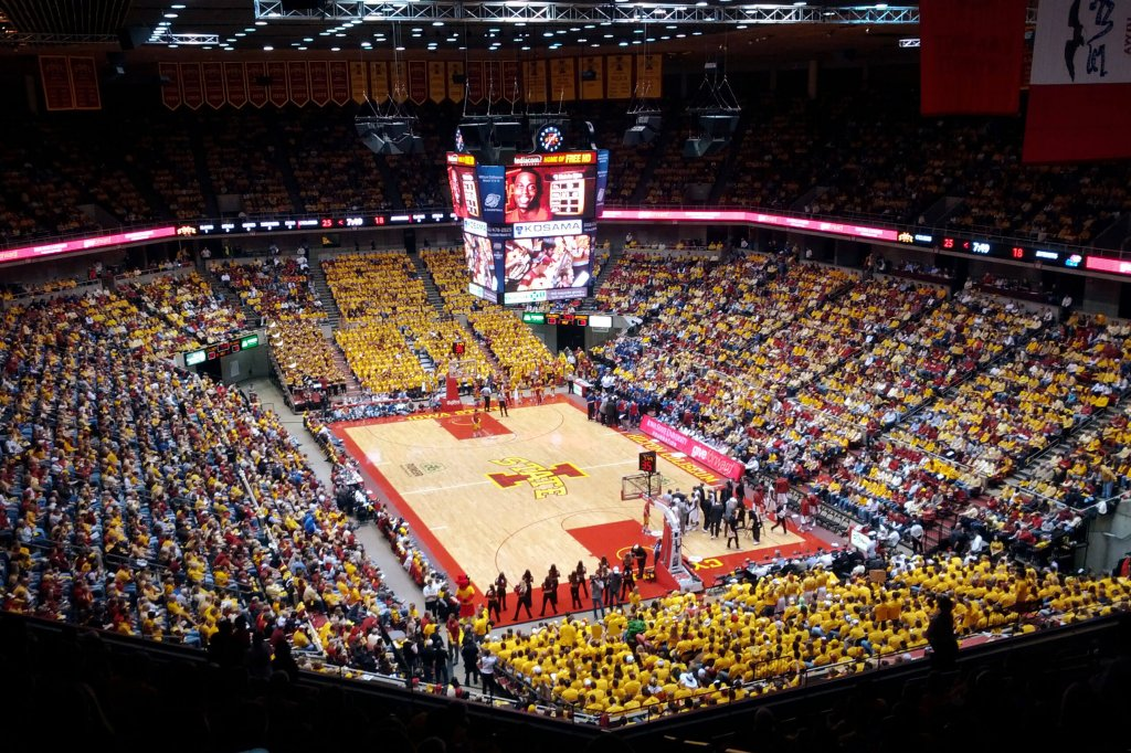 Hilton Coliseum at Iowa State
