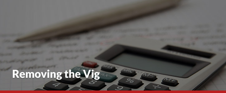 Removing the vig header image calculator pen handwriting