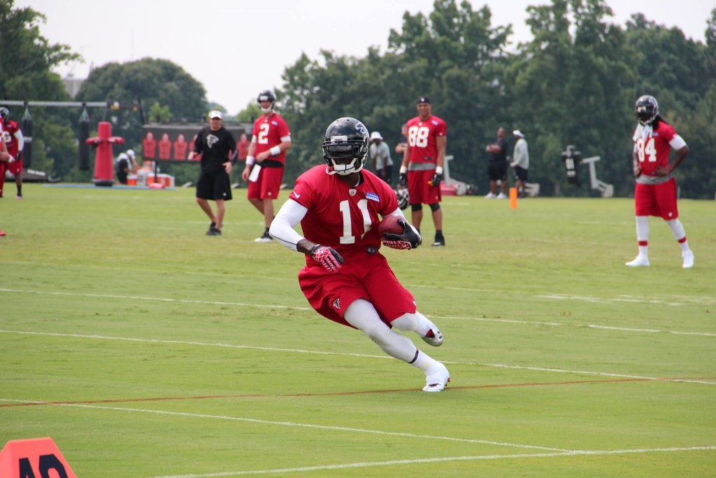Julio Jones at practice