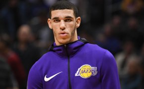 Lakers guard Lonzo Ball