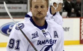 Steven Stamkos of the Tampa Bay Lightning