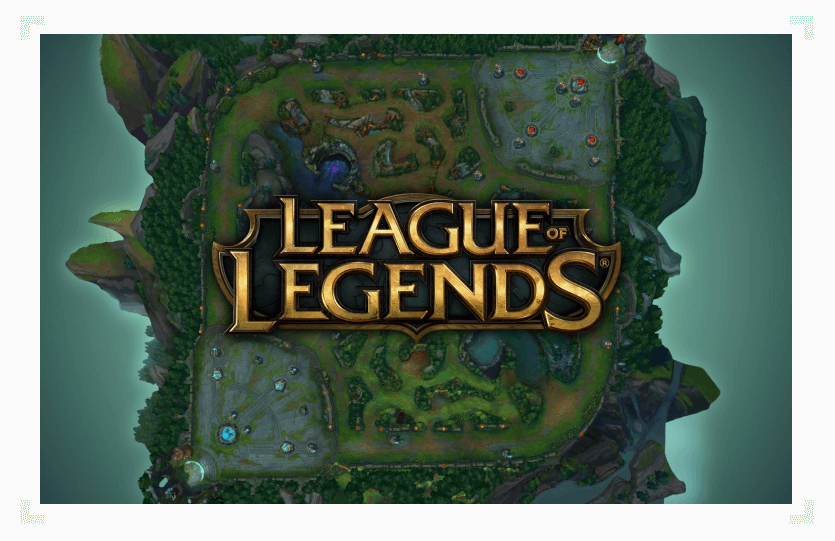 League of Legends map