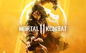 Mortal Kombat 11 cover art.