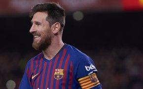 Barca's Messi