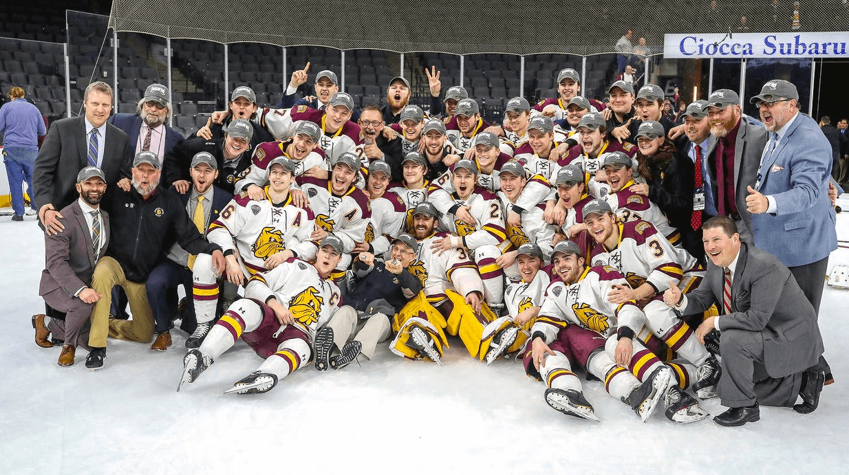 College hockey frozen four betting odds nfl playoff game betting odds