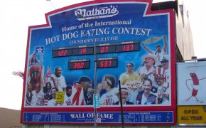 PETA and Nathan's Hot Dog Eating Contest