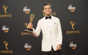 Rami Malek at the 2016 Emmy Awards