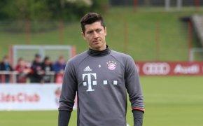 Robert Lewandowski of Bayern Munich