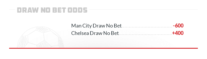 man city draw no bet chelsea draw no bet sample line