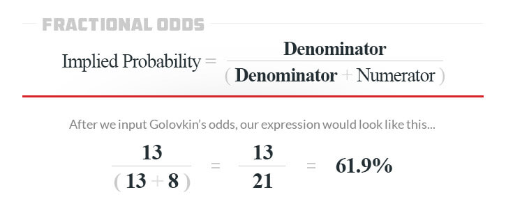 implied probability golovkin odds example