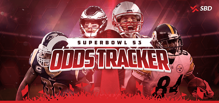 SBD's Super Bowl 53 Odds Tracker Preview