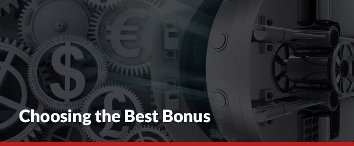 choosing the best sportsbook bonus dollar signs euros pounds