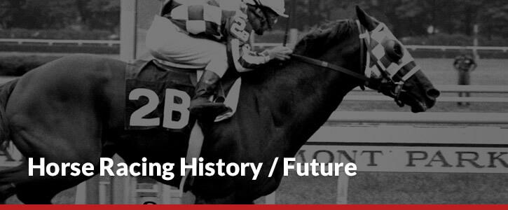 Horse racing history and future header image jockey on horse