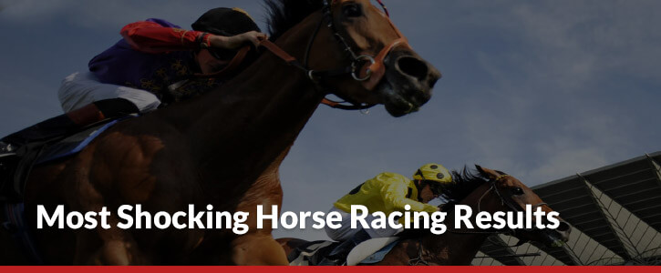 Most shocking horse racing results header image horse jockey